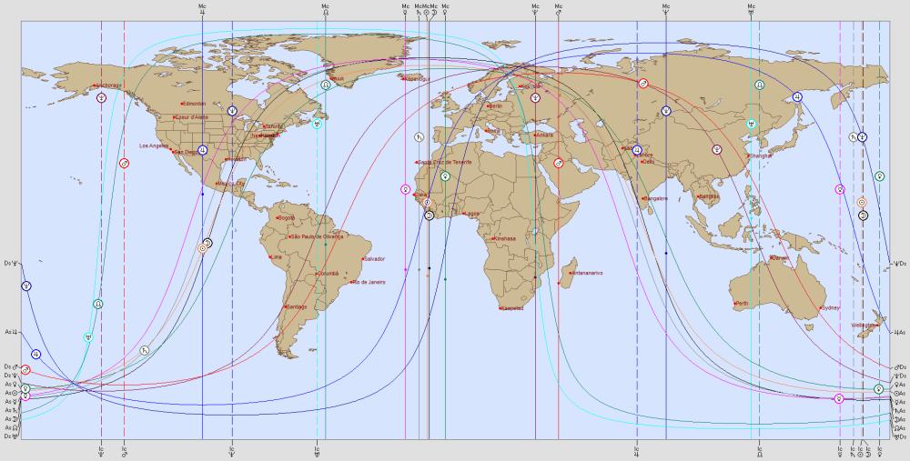 NEW MOON 22 NOVEMBER 2014 Astro Carto Graphy