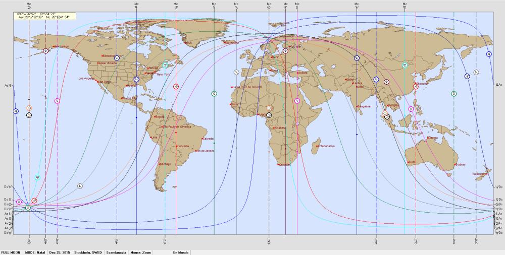 Full Moon 25 december 2015 Astro Carto Graphy