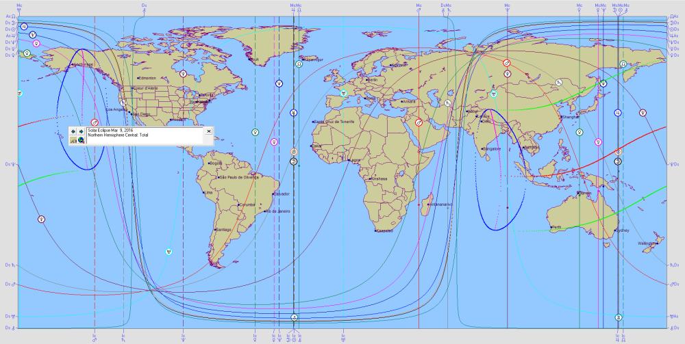 Total Solar Eclipse of 2016 Mar 09 Astro Carto Graphy