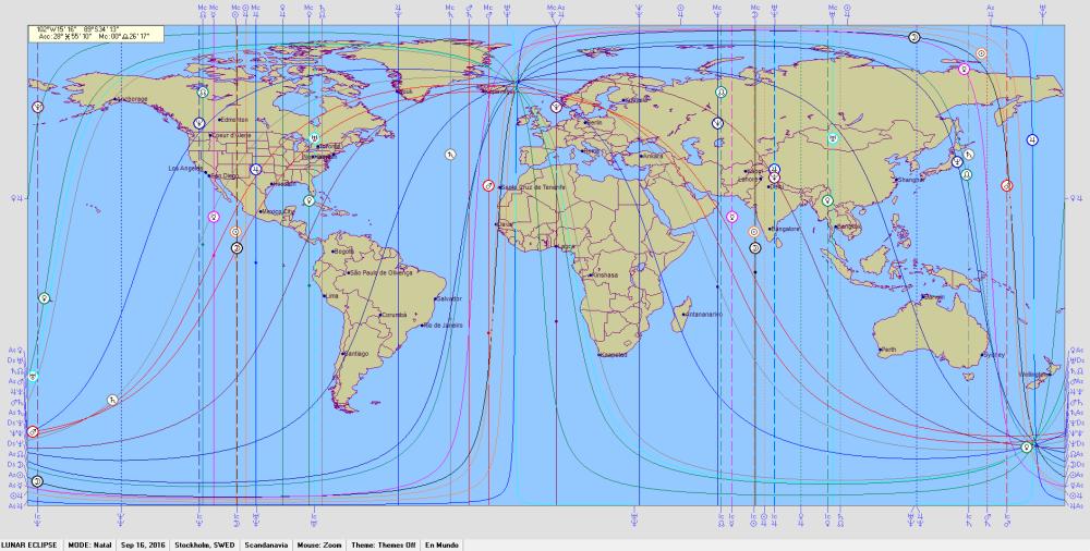 Lunar Eclipse 16 September 2016  Astro Carto Graphy