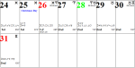Professional Astrological Calendar : December2017.